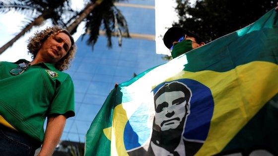 Jair Bolsonaro foi internado no Hospital das Forças Armadas, em Brasília, após sentir dores abdominais durante a madrugada