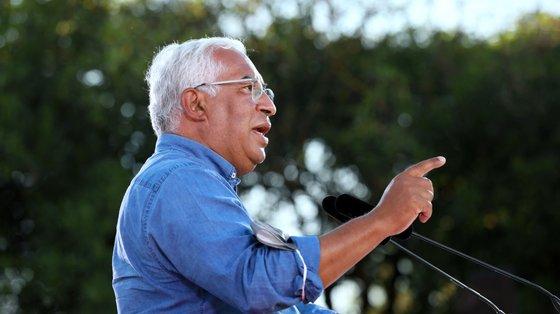 António Costa vai encontrar-se com o candidato socialista à Câmara de Ponta Delgada, André Viveiros