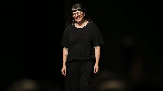 Alexandra Moura foi a primeira designer portuguesa integrada no calendário oficial da Semana da Moda de Milão, em 2019