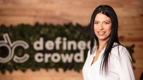 Daniela Braga é fundadora e presidente executiva da DefinedCrowd