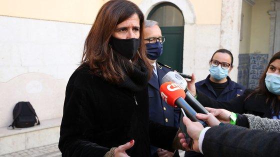 """O Governo português está a acompanhar """"de forma muita próxima os desenvolvimentos"""" através do IPMA, diz Patrícia Gaspar"""