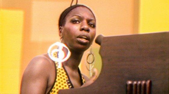 """Nina Simone no filme """"Summer of Soul"""", que abre o festival a 21 de outubro"""