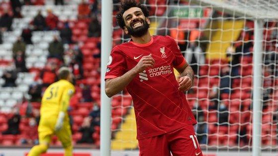 Salah venceu duas vezes o prémio de melhor marcador da Premier League