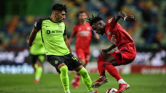 O jogo foi disputado no estádio José Alvalade, em Lisboa