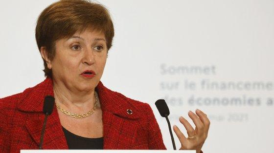 FMI é liderado por Kristalina Georgieva