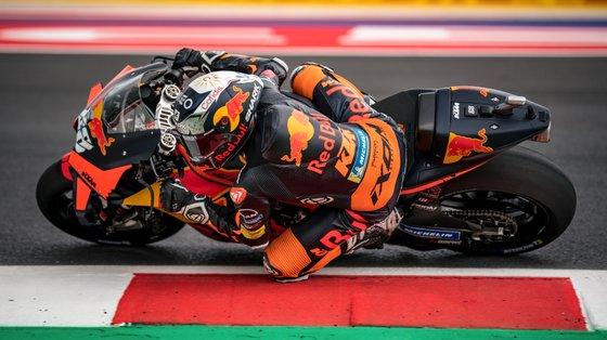 Miguel Oliveira tinha boas recordações do traçado, com vitórias e pódios em Moto3 e Moto2, mas fez em 2021 o pior resultado em MotoGP em São Marino