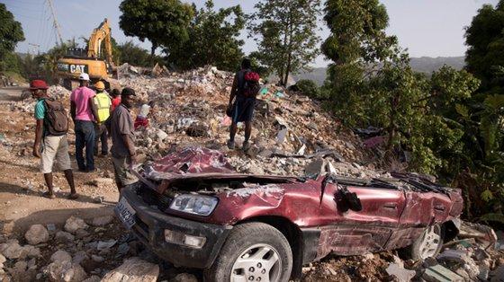 """""""O Haiti e o seu povo necessitam, mais do que nunca, da solidariedade de todo o mundo, ao enfrentar múltiplas crises ao mesmo tempo"""""""