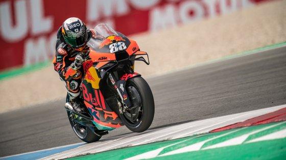Miguel Oliveira tinha terminado no 13.º lugar na única corrida em MotoGP no circuito de Assen, em 2019, com a Tech3