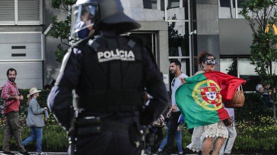 Quando o juiz foi ouvido a 16 de abril vários apoiantes deslocaram-se para junto do edifício do Conselho Superior da Magistratura