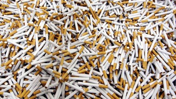 No decorrer de 125 mandatos de busca foram apreendidas 50 toneladas de folha de tabaco e de tabaco moído.