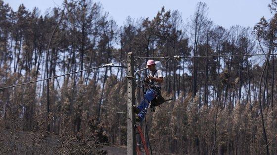 A EDP diz que a lei a obriga a disponibilizar os postes da luz às empresas de telecomunicações, sendo que o valor cobrado é usado para compensá-la por custos de construção, manutenção ou reparação