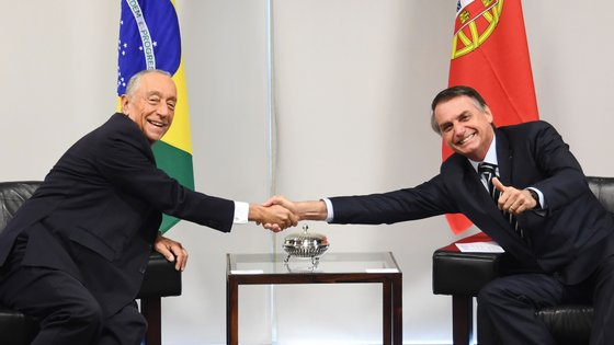 Marcelo encontra-se com Bolsonaro em Brasília