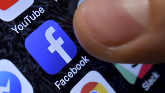 epa08925058 (FILE) - A close-up image showing the Facebook app on an iPhone in Kaarst, Germany, 08 November 2017 (reissued 07 January 2021). Facebook CEO Mark Zuckerberg on 07 January 2021 announced on his platform that the block placed on US President Donald J. Trump's on 06 January 2021 was being extended for his 'Facebook and Instagram accounts indefinitely and for at least the next two weeks until the peaceful transition of power is complete'. The move comes after various groups of President Trump's supporters broke into the US Capitol in Washington, DC and rioted as Congress met to certify the results of the 2020 US Presidential election.  EPA/SASCHA STEINBACH *** Local Caption *** 56109918