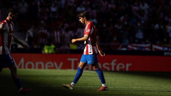 João Félix foi suspenso após a expulsão de sábado contra o Athletic de Bilbau