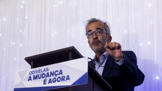 Paulo Rangel está com Pinto Luz em Odivelas