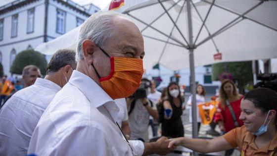 """O secretário-geral do PS, António Costa, perguntou na quinta-feira """"em que país vive"""" Rui Rio por não compreender que o país está a """"sair de uma crise"""""""