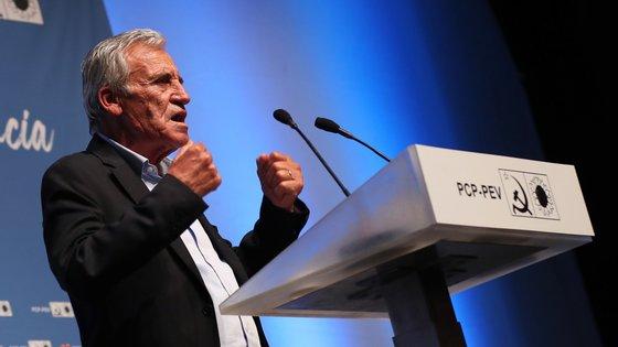 """Jerónimo de Sousa acredita que conseguir """"mais mandatos e mais votos é uma possibilidade real"""""""