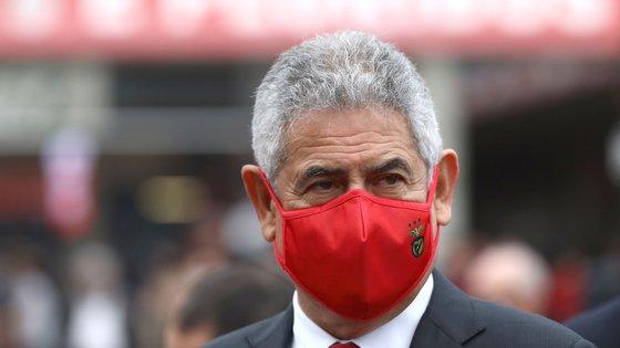 Luís Filipe Vieira está preso em casa até pagar caução de três milhões de euros / ANTÓNIO PEDRO SANTOS/LUSA