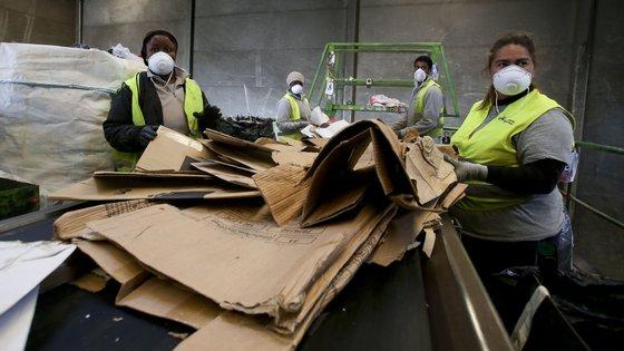 A Lipor recebeu 19.655,79 toneladas de biorresíduos no primeiro semestre de 2021
