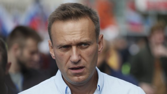 Alexei Navalny, líder da oposição ao regime russo, está preso desde janeiro