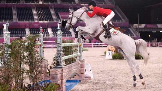 Luciana Dinis deixou rasgados elogios a Vertigo du Desert, cavalo que em 2019 não estava na linha para chegar aos Jogos