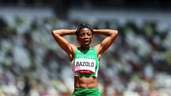 Lorene Bazolo ficou muito satisfeita com a zona da curva mas admite que podia ter feito mais na reta nas meias dos 200 metros