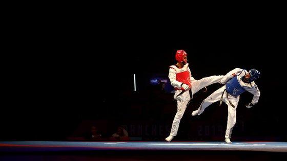 Rui Bragança era o único representante nacional no taekwondo em Tóquio e caiu logo no primeiro combate