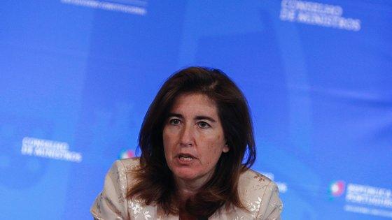 Ana Mendes Godinho, ministra do Trabalho, Solidariedade e Segurança Social, apresenta o orçamento do seu ministério