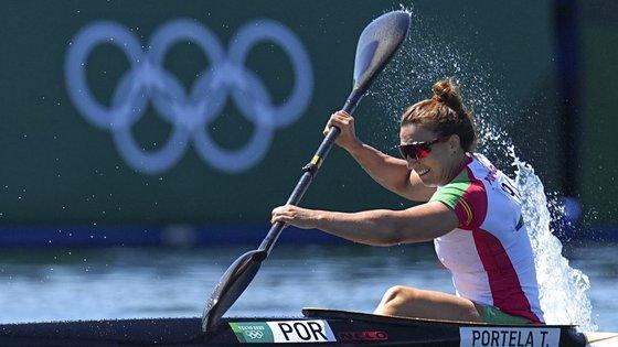 A canoísta portuguesa, de 33 anos, preparou este ciclo olímpico para os 200 metros, contudo em Tóquio tocou-lhe a meia-final mais difícil