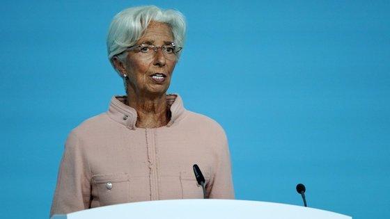 """""""Já estamos a observar as empresas a pedir empréstimos para investir novamente"""", disse Christine Lagarde"""