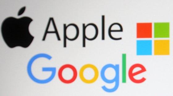 As empresas tecnológicas têm todas sede e foram fundadas nos EUA