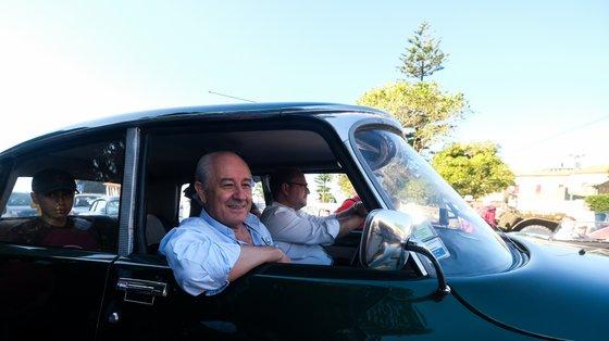 Este domingo, Rui Rio juntou-se à campanha e ao carro clássico de Vladimir Feliz no Porto