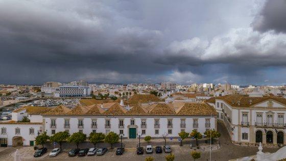 Parte da Cidade Velha de Faro