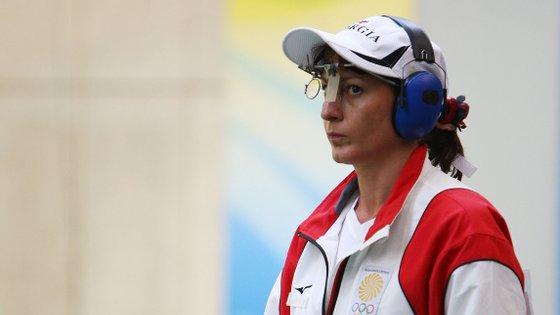 A georgiana de 52 anos tem três medalhas olímpicas, dois ouros e um bronze