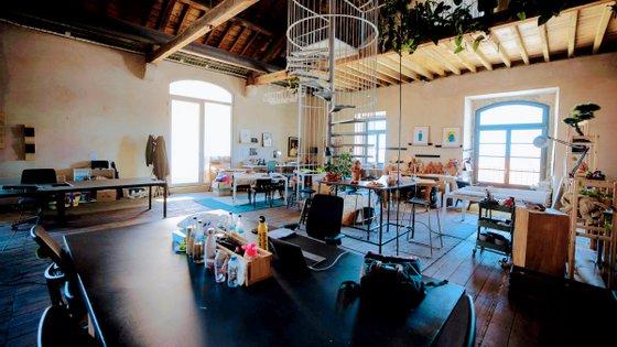 """O escritório da Mercedes-Benz.io no NOW Beato. Em 2018, a marca disse que queria abrir """"um novo capítulo da marca a partir de Lisboa"""""""