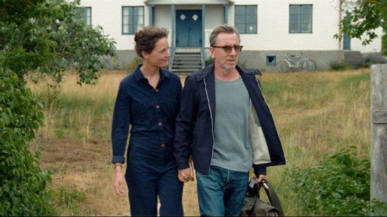 """Vicky Krieps e Tim Roth são os protagonistas de """"A Ilha de Bergman"""", um dos filmes em destaque na Festa"""
