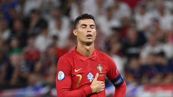 O capitão da Seleção Nacional marcou duas vezes, ambas de grande penalidade