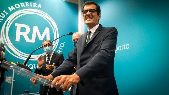 O movimento de Rui Moreira venceu as eleições autárquicas deste ano com 40,72% dos votos