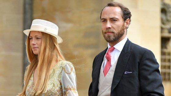 O casal conheceu-se em 2018, em Londres
