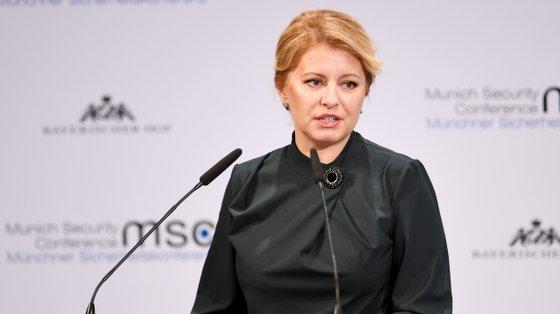Em 2020, Caputova foi também a primeira mulher a falar, mas não o fez até ao segundo dia, quando mais de 50 homens já tinham falado