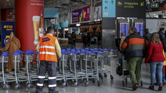 O movimento de carga e correio totalizou 16,2 mil toneladas em maio, depois de ter sido também praticamente inexistente em maio de 2020