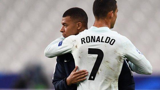 """Mbappé tinha posters de Ronaldo no Real Madrid quando era ainda um adolescente; agora, português pode """"facilitar"""" ida para Espanha"""