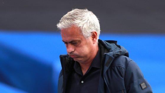 A Roma é treinada pelo português José Mourinho