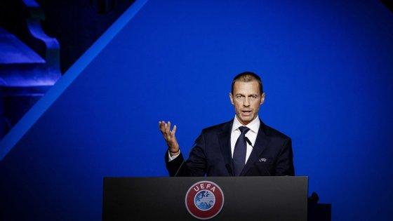 O presidente da UEFA anunciou desde a primeira hora que os clubes envolvidos na Superliga iam ser castigados