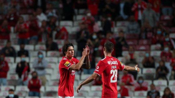 Darwin Núñez e Weigl marcaram os golos da sexta vitória seguida do Benfica no Campeonato, algo que não acontecia há 39 anos