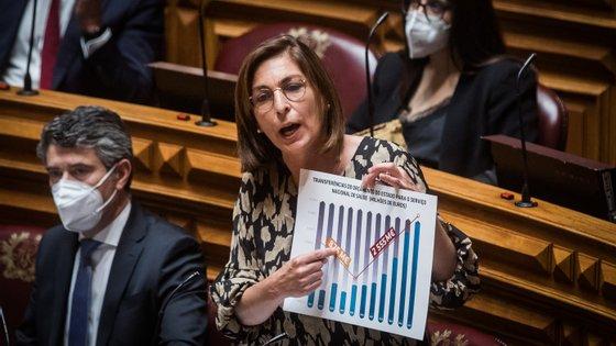 """O PS referiu que """"Portugal cresceu acima da média da União Europeia seja em termos homólogos seja em cadeia"""""""
