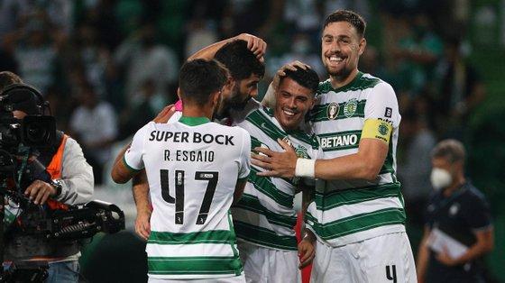 O jogador espanhol voltou a marcar o golo que foi decisivo para a vitória da equipa de Rúben Amorim
