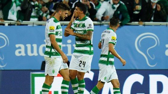 Pedro Porro marcou o único golo de grande penalidade a meio da segunda parte e garantiu o regresso às vitórias do Sporting na Liga