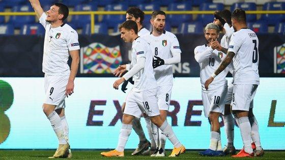 A equipa de Roberto Mancini derrotou a Bósnia de Pjanic e companhia