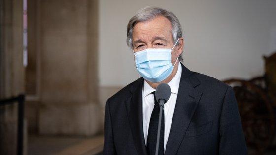 """Guterres reuniu-se em privado com cerca de 40 líderes mundiais para advertir que existe """"um alto risco de fracasso"""" na cimeira climática"""